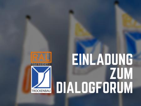 Einladung Zum Dialogforum Am 1. März 2018